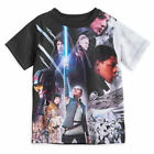 Disney Store Star Wars Last Jedi Sublimated Shirt Kids Size 2/3 4 5/6 7/8 10/12 $17.95 USD on eBay