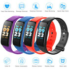 Heart Rate,Fitness Tracker,Smart Bracelet,Wristband Watch,Sleep Monitor F1/C1 US