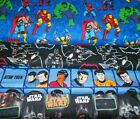 SUPER HEROES #15  FABRICS Sold INDIVIDUALLY NOT AS A GROUP By the HALF YARD on eBay