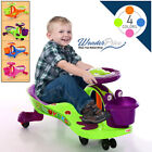 Wiggle Swing Car Ride On Swivel Scooter Gyro Twist & Go Kids Ride-On Music Car