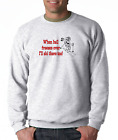 Gildan Long Sleeve T-shirt When Hell Freezes Over I'll Ski There Too Skiing