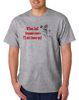 USA Made Bayside T-shirt When Hell Freezes Over I'll Ski There Too Skiing