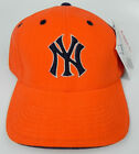 NEW YORK YANKEES MLB ORANGE FLEX-SEAM STRETCH-FIT AMERICAN NEEDLE CAP HAT NEW!