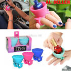 Flexible Durable Milti Wearable Nail Polish Bottle Holder Ring Fit All Finger
