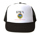 Trucker Hat Cap Foam Mesh City State Country Iowa Seal Home Sweet Home