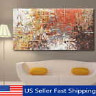 modern canvas painting - Large Modern Abstract Oil Canvas Print Painting Picture Home Wall Decor Unframed