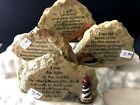 god scriptures - New Religious Faux Rock Stone Scripture Gift Christian GOD LORD CHRIST 4 styles