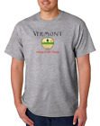 USA Made Bayside T-shirt USA State Seal Vermont Home State