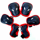 Kid 6PCS Skating Bike Protective Gear Safety Children Knee Elbow Pad Set