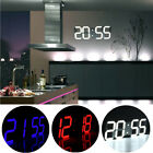 Led Digital Large Wall Clock Remote Alarm Clock Watch Countdown Timer Thermomete