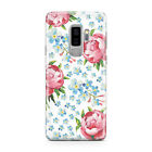 SHABBY CHIC FLORAL FLOWERS MOBILE PHONE CASE COVER FOR SAMSUNG GALAXY S9 PLUS