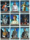 2014 Topps Star Wars Chrome Perspectives Prism Refractor /199 Finish Your Set