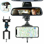 Universal New Car Rearview Mirror Mount Holder Stand Cradle For Cell Phone GPS