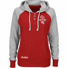 Houston Rockets Womens Red Overtime Madness Pullover Hoodie Jacket NBA Majestic on eBay