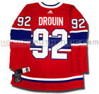 JONATHAN DROUIN MONTREAL CANADIENS HOME AUTHENTIC PRO ADIDAS NHL JERSEY