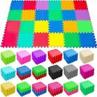 Large Soft Foam EVA Interlocking Floor Mats Jigsaw Puzzle Tiles Babies Kids Play