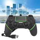 US For Sony PS4 PlayStation4 Wired Gamepad Controller Joypad Controller Gift