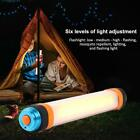 Portable USB Rechargeable LED Light Outdoor Camping Tent Hiking Flashlight Lamp