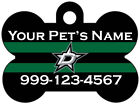 Dallas Stars Custom Pet Id Dog Tag Personalized w/ Name & Number $9.87 USD on eBay