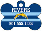 Los Angeles Chargers Custom Pet Id Dog Tag Personalized w/ Name & Number $11.67 USD on eBay