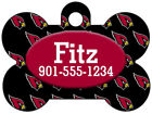 Arizona Cardinals Custom Pet Id Dog Tag Personalized w/ Name & Number $11.67 USD on eBay