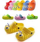 toddler kid girls boys sandals croc caterpillar