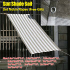Multi-Size Sun Shade Sail For Patio Canopy Shelter Yard Garden Outdoor Cover BOS