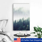 Modern Abstract Forest Tree Canvas Print Art Painting Home Wall Decor Unframed