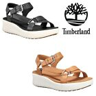 Timberland Women's Los Angeles Wind Sporty Leather Strap OrthoLite Sandal