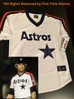 NEW Mike Scott Houston Astros Men's 1989-1993 Style Retro Jersey Biggio Ryan on Ebay