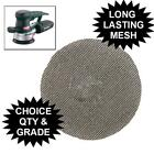 MESH SANDING DISCS LONG LASTING 115 OR 125 mm PADS  FOR RANDOM ORBIT SANDERS