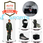 Monster go Kart race suit CIK/FIA - (includes suit, gloves, balaclava) free bag