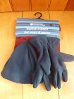 MOUNTAIN WAREHOUSE NAVY BLUE BURGUNDY FLEECE HAT GLOVES SCARF GIFT SET ONE SIZE