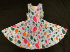 Внешний вид - NEW Dot Dot Smile Ballerina Twirly Dress Summer Knit Girls Heart Printed