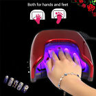 gel nail polish with led light - 48W LED Manicure Lamp Light UV Nail Dryer Gel Polish Dual-use For Hands