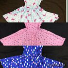 NEW Dot Dot Smile Ballerina Twirly Bundle of 3 Dresses Summer Knit Girls