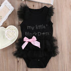 Newborn Baby Girls Infant Rompers Jumpsuit Bodysuit Tutu Dress Clothes Outfit RT
