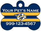 Nashville Predators Custom Pet Id Dog Tag Personalized w/ Name & Number $9.87 USD on eBay