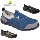 WOMENS LIGHTWEIGHT STEEL TOE CAP SAFETY WORK TRAINERS LADIES SHOES BOOTS SZ 2-8