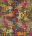 Contemporary Watercolor Inspired Colorful Abstract Area Floor Rug