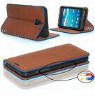 Gorilla+Tech+Fancy+Leather+Wallet+Flip+Cases+with+Card+Slot+Stand+Genuine+Brand