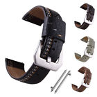 Quick Release Genuine Leather Strap Band For Samsung Gear S3 Classic/Frontier