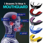 Kyпить CFR Gel Gum Mouth Guard Shield Case Teeth Grinding Boxing MMA Sports MouthPiece на еВаy.соm