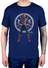 Official Marvel Comics Avengers Infinity War Spider Character T-Shirt Spiderman