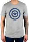 Official Marvel Comics Avengers Infinity War Captain America Icon T-Shirt Thanos