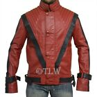 Stock Clearance 60% off ,Thriller Red Leather Jacket Michael Jackson Beat It