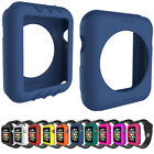For Apple Watch iWatch 38MM 42MM Full Slim Body Silicone Case Cover Protectors