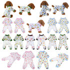 Pet Dog Cotton Cartoon Pajamas Clothes Puppy Sleep Coat Jumpsuit Apparel Gifts