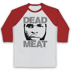 CLUBBER LANG ROCKY 3 DEAD MEAT UNOFFICIAL BOXING MR T 3/4 SLEEVE BASEBALL TEE