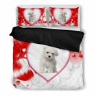Valentine's Day Special-Maltese Dog Print Bedding Set-Free Shipping